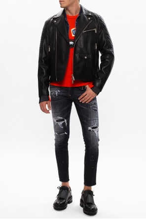 Patched sweater od Dsquared2
