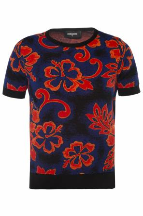 Patterned top od Dsquared2