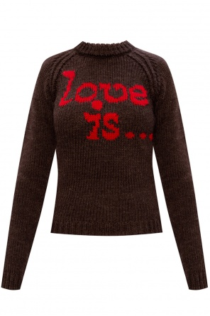 Printed sweater od Dsquared2