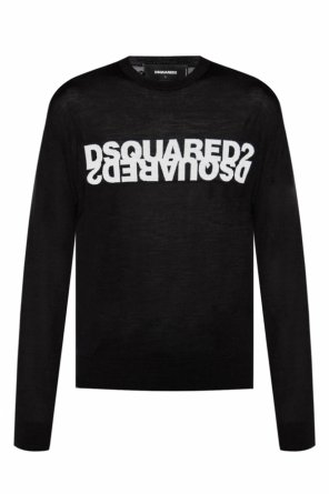 Logo-embroidered sweater od Dsquared2