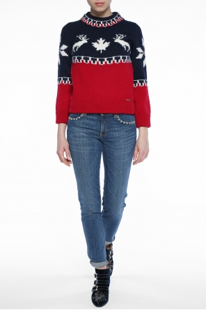 Patterned sweater od Dsquared2