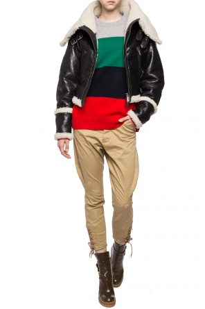 Striped wool sweater od Dsquared2