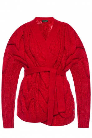 Oversize woven cardigan od Dsquared2