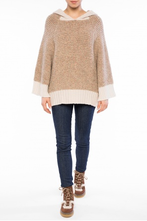 Hooded oversize sweater od See By Chloe