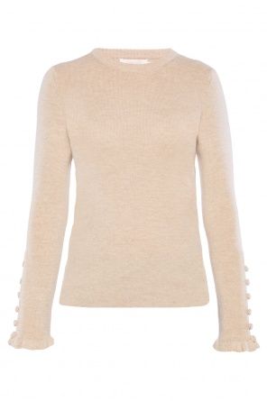 Appliqued sweater od See By Chloe