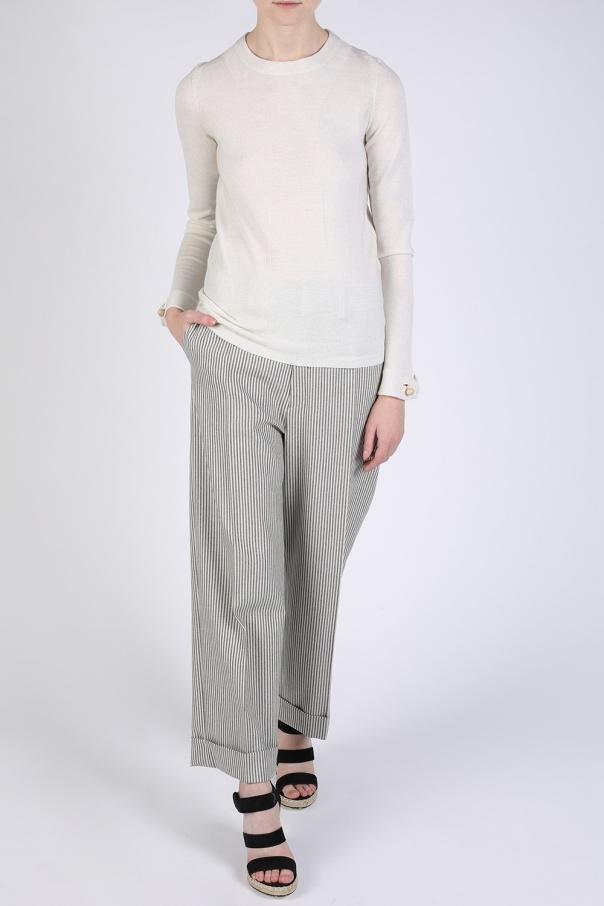 crewneck sweater see by chloe vitkac shop online. Black Bedroom Furniture Sets. Home Design Ideas