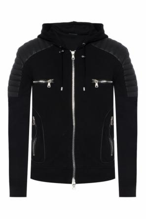 Hooded sweatshirt od Balmain