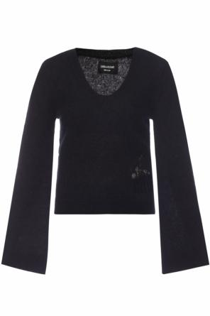 Raw-trimmed sweater od Zadig & Voltaire