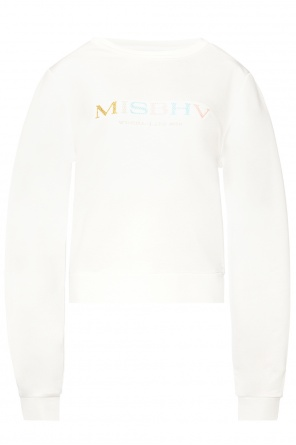 Logo-embroidered sweatshirt od MISBHV