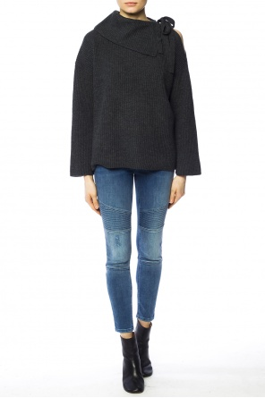 Tie neck sweater od AllSaints