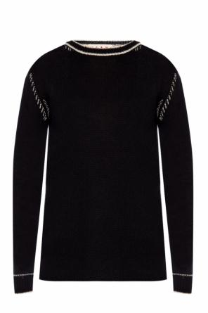 Embroidered sweater od Marni