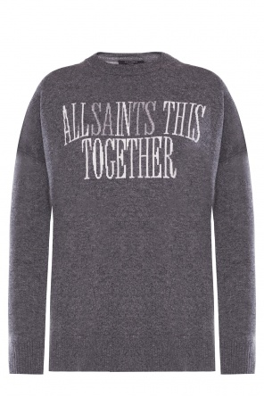 'together' sweater with logo od AllSaints