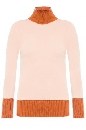 Rib knit turtleneck sweater od Victoria Beckham