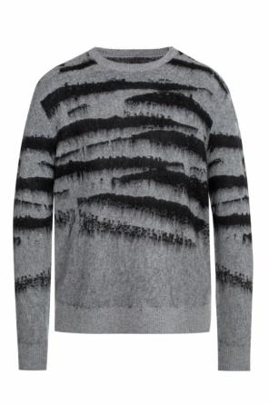 'ture' camouflage sweater od AllSaints