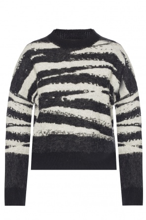 'ture' patterned sweater od AllSaints