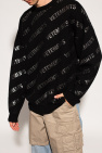 VETEMENTS Sweter z logo