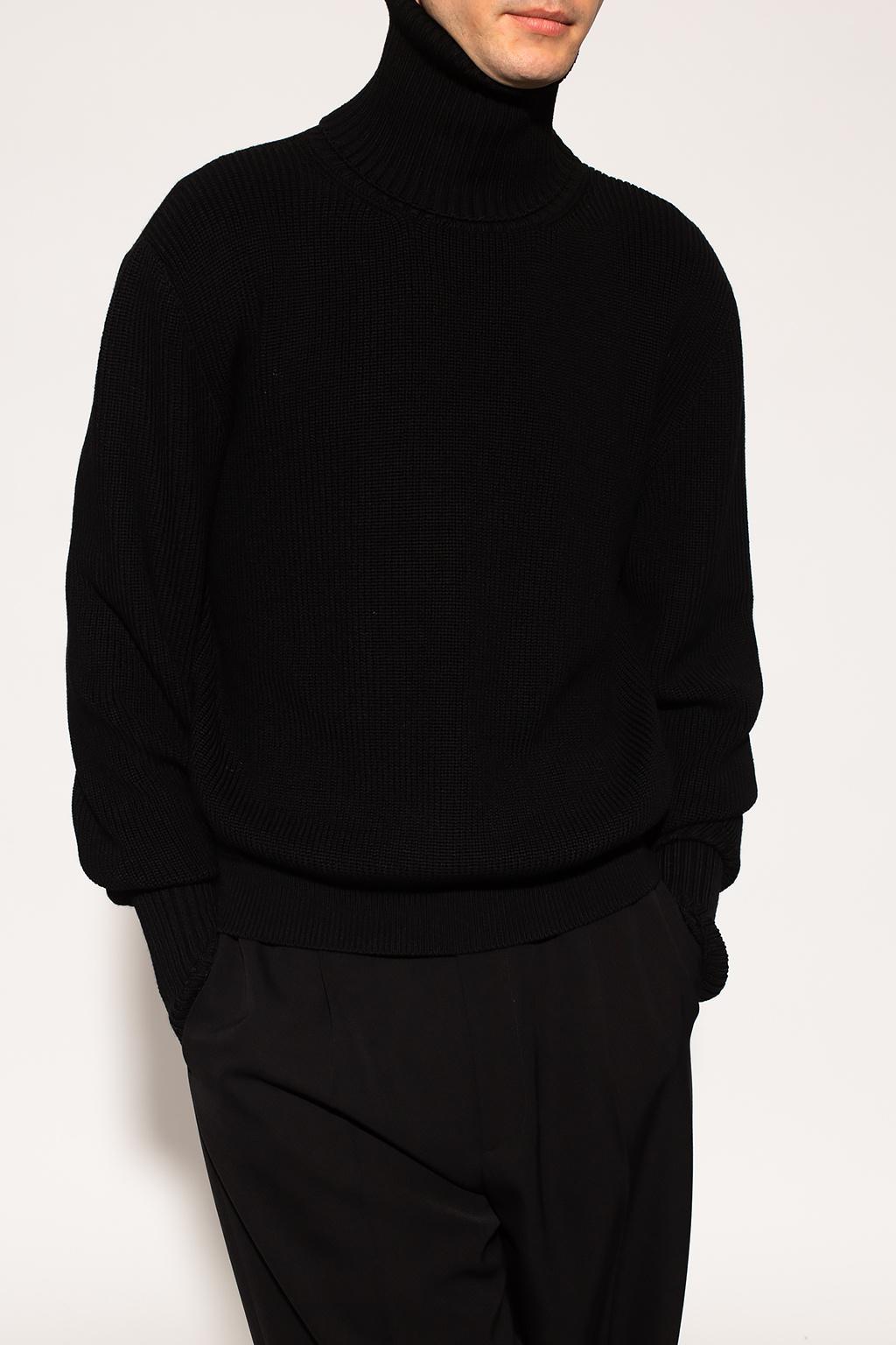 VETEMENTS Sweter ze stójką