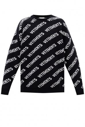 Sweter z logo od Vetements