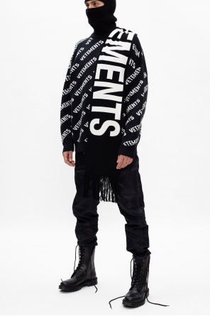 Sweater with logo od Vetements