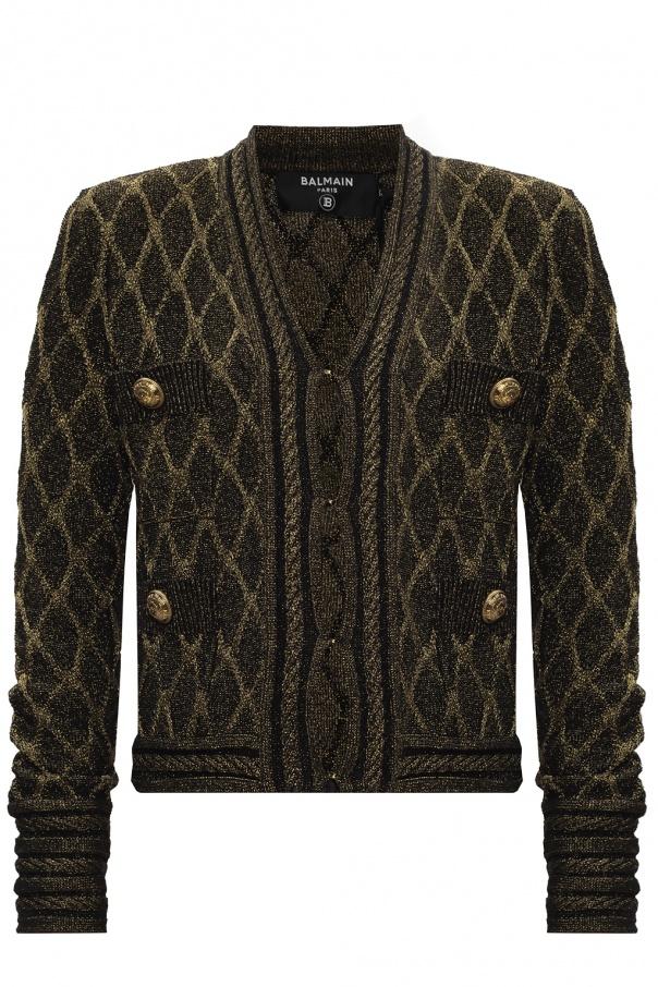 Balmain Cardigan with distinctive buttons