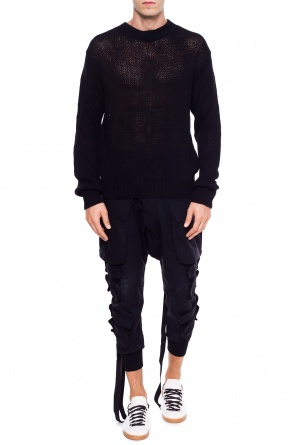 Braided crewneck sweater od Unravel Project