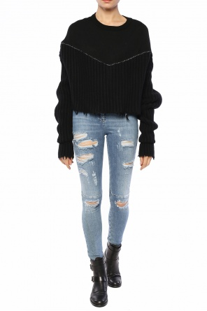 Cropped sweater od Unravel Project