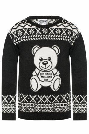 6e3c856fd872 Teddy bear graphic sweater od Moschino Teddy bear graphic sweater od  Moschino