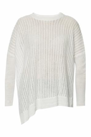 'verse' asymmetrical sweater with slits od AllSaints