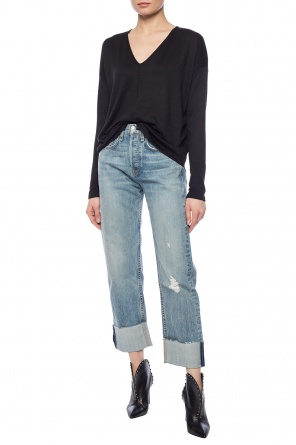 Asymmetrical top with long sleeves od Rag & Bone