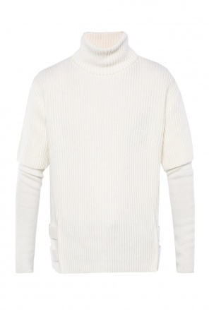 Ribbed turtleneck sweater od Balmain