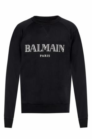 Sweatshirt with a print od Balmain
