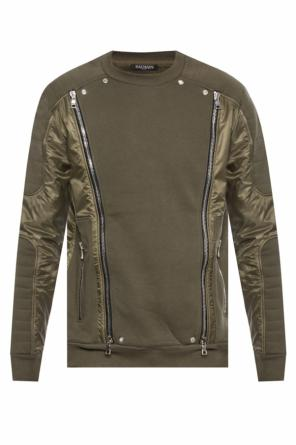 Zipped sweatshirt od Balmain
