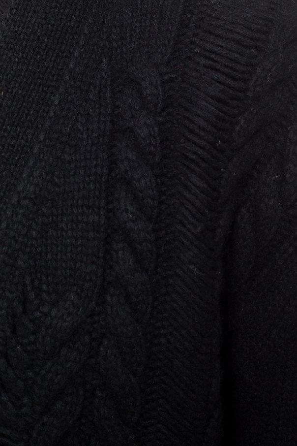 Braided cardigan od Amiri