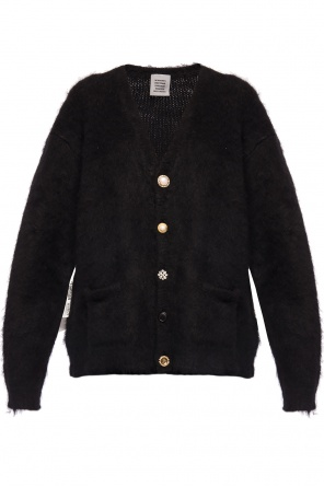 Cardigan with decorative buttons od Vetements