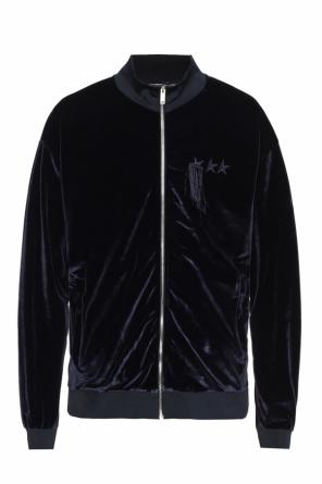 Velour sweatshirt od Golden Goose