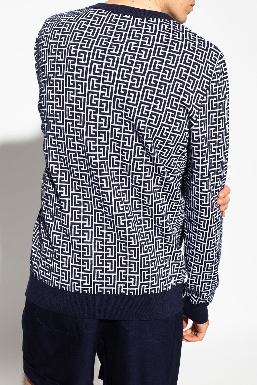 Balmain Sweter z logo