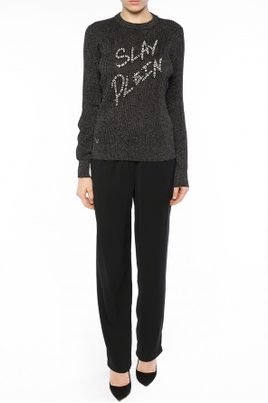Lurex thread sweater od Philipp Plein