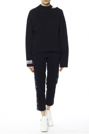 Sweatshirt with slits od Vetements