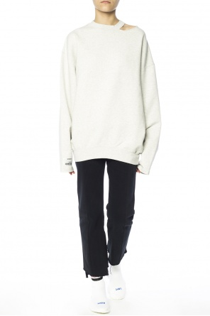 Patched oversize sweatshirt od Vetements