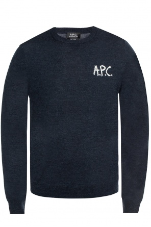 Logo-embroidered sweater od A.P.C