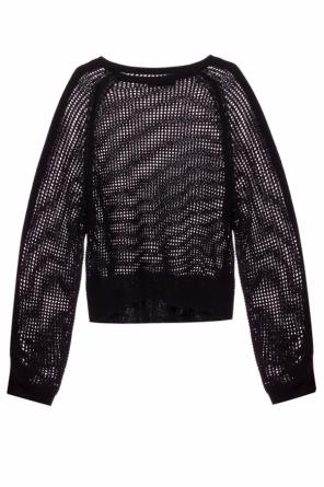 'zano' open-knit sweater od AllSaints