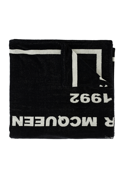 Alexander McQueen Ręcznik kąpielowy z logo