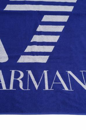 Embroidered towel od EA7 Emporio Armani