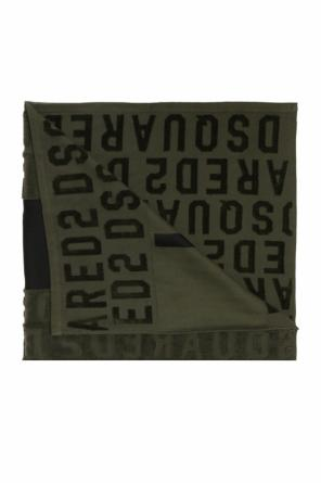 Towel with an embroidered logo od Dsquared2