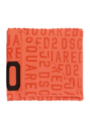 Logo-embroidered towel od Dsquared2