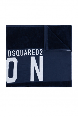 Towel with logo od Dsquared2