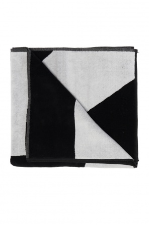 Towel with logo od Y-3 Yohji Yamamoto