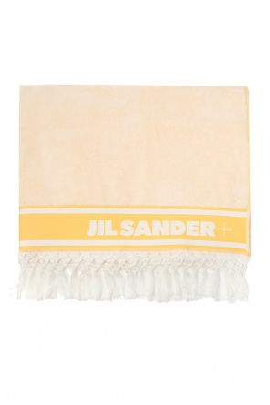 Towel with logo od JIL SANDER