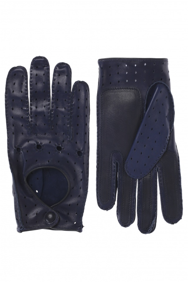 Leather gloves od Etro