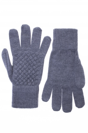 Woven wool gloves od Bottega Veneta